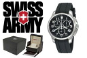 241452 VICTORINOX fish basket avian Knox SWISS ARMY watch black men