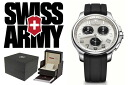 VICTORINOX Victorinox SWISS ARMY watch 241454 silver x black mens