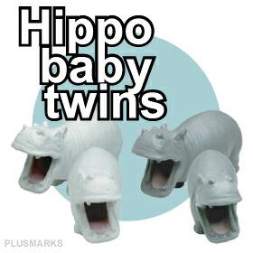 Hippo baby twins���ҥݥ٥ӡ��ĥ��������餫��