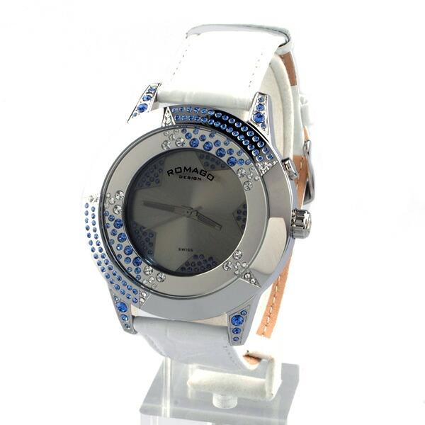 ミラー文字盤 クォーツ 腕時計 ...
