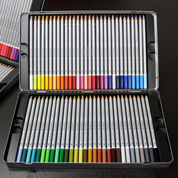 Watercolor Color Names Watercolor Colored Pencils