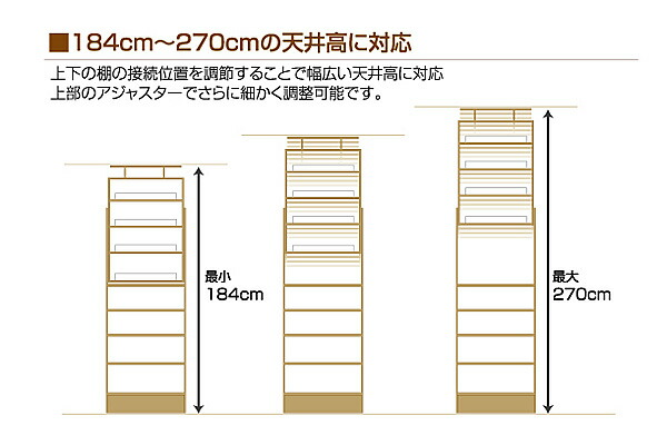 壁面収納 薄型本棚 PROVA2 プローバ2 追加棚