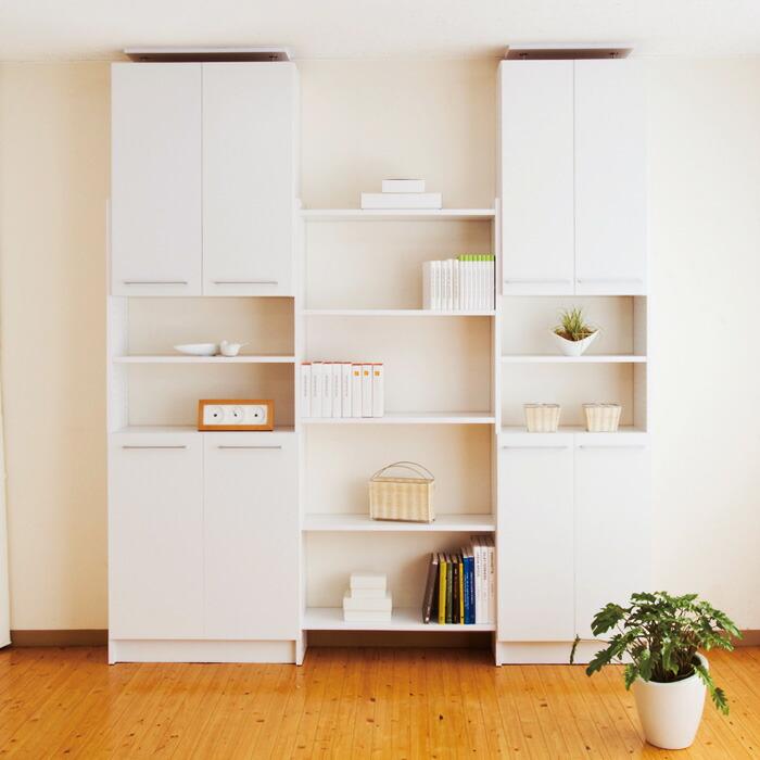 壁面収納 薄型本棚 PROVA2 プローバ2 本棚 ホワイト