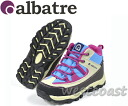 110 albatre (Bartle) ジュニアトレッ walking shoes AL-TS J BLUE/MEGENTA climbing shoes fs3gm