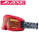 AXE (axe) junior goggles 2014 model AX220-ST RE red x Orange fs3gm