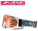 AXE (axe) junior goggles 2014 model AX220-ST WT white × Orange fs3gm