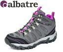 Albatre (배틀) 여자 트레킹 화 AL-TS1120 그레이/마젠타 등산 신발