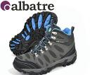 ALBATRE (Bartle) AL-TS1120 CHARCOAL/CYAN mens Trek walking shoes