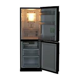 アマダナ「冷蔵庫」260L/ブラック