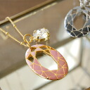 Deprived of beautiful motifs like shimmering stained-glass eyes! With its elegant appearance in the party scene recommend a little adult necklace ◆ brilliant cut pendant