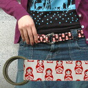 Select fabric belt [matryoshka doll]