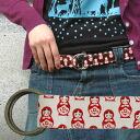 Select fabric belt [matryoshka doll]