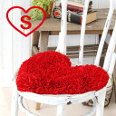 Red heart-shaped bath mat is ideal for interior rooms! Your bathroom or kitchen with this bath mat one cute! From the smallish size in the cushions of the sofa and cushions rather than perfect backside is jute material bath mat ◆ LOVE heart bass Matt [S]