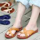 Sandals are appearance ◆ C.I.L. in summer latest the prettiness ♪ handmade leather item where a crossed strap tickles オシャレゴコロ than the sea eye L of the favorable reception: Combination synthetic leather sandals