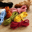 22,499 Pieces sold out! Colorful nylon suede material original accessories are easy to make! Perfect for bracelets or necklaces made accessories / strap / straps / フェイクレザー / pendant / chain / プチプライス ◆ suede leather lace
