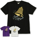 ベルマークロゴ Tee with cute big lame gold rings and リンッ Bell! Charity items plus the rhythmic BellMark cursive ◆ Bell Mark Goldenberg t-shirt ' 08