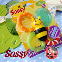 Fly teeth to the first baby! On the brink of cool bee sucking! Teeth compaction rattle used at sassy's! Perfect baby gifts for ♪ pop bee's cute ベイビートイ ◆ Sassy ( sassy ) :Bumble Bites