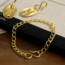 "The simple gold chain which I could easily make accessories only for you for came up than ""jitter""! Because is easy to use the sigmoid hook that putting on and taking off is simple, attach a bracelet and a your other charm; and is ◎◆ Jitta on a"