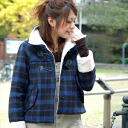 The duffel coat which is unbearable for the young girl of the check X boa! Without, as for the short coat that トッグル and a button healed by the soft and fluffy feel of the natural vintage are stylish, the neck can warm up, and needing a muffler; ♪◆ natuRA