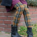 Tartan leggings in self-financing adult casual style! Travelers insist too much on the easy-to-fit items from the spat is also soothing colors from childish and not too elastic pattern spats the first recommended ◆ cheek was stiff check spats
