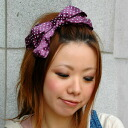 "The big of approximately 7.5cm in height X approximately 20cm in width is bleach boom! The classic ""ribbon"" of the young girl became the big big corsage! Satin dot ribbon hair accessories ◆ BIG dot ribbon corsage of the arrangement freedom whic"