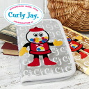 Unique design Otsu 女ゴコロ Tickle Warfield! anime embroidery emblem with colorful presence large storage capacity of the preeminent multi purpose pouch! Good stuff can be kept together, such as passport or MCH ◆ Curly Jay ( カーリージェイ ): multicast the gumball.