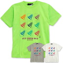 There is not that I watched a so colorful bell mark! A lot of bell marks of the pop color are めましょ ◆ bell mark CUT OUT T-shirts by a volunteer in casual Tee of the big impact that formed a line on the chest at the beginning