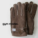 Suet in × in heterogeneous material MIX of leather functional & insulation perfectly unisex gloves! put the hands and two fluffy boa felt good ◎ pig leather / men 's/women's / glove/outdoors/pigskin ◆ gym master ( jimmaster ): casual SWAT leather glo