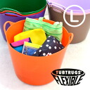 Super BIG size カラフルゴム bucket Tubtrugs appeared! Using ECO material flexible and sturdy outdoor scene flourish in L size 38 l type カラーバケツ! Japan Limited Edition color all 19 color ◆ Tubtrugs ( tubtrugs ) :Tubtrugs L size 38 L