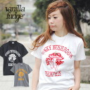 Mushroom cute x adults become addicted numbering cool casual Tee! Vintage-inspired print short sleeve tee レディースアメカジ illustrations ◆ vanilla fudge ( vanilla fudge where ) :FUNKY MUSHROOMS t-shirt