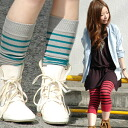 トレンカ-like socks, a leg warmer, leggings, nova legware of the expectation to be usable as an arm warmer more! Pipe-formed all-around knit tube socks ◆ ボーダーレクタングルチューブ where 役立 ちの pop color frill is casual for ultraviolet rays measures and air conditioner m