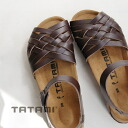 BIRKENSTOCK high spec line TATAMI Ionian! Lattice woven upper design is characteristic of wide narrow Narrow ( narrow ) レディースビルケンシュトック leather ankle strap sandal ◆ TATAMI ( tatami ) Ionia