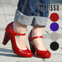 ●-Brazil from rubber footwear brand melissa belted high heel! Fruit-flavored plant plastic shoes can be used in basic ◆ melissa (Melissa officinalis): ワンストラップ rubber pumps [ASHIA II]
