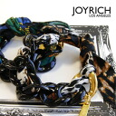 Leopard and Plaid スカーフリボンブレス /Jungle Cat Bracelet/Luxury Plaid-Leopard pattern and animal pattern / bag charm ◆ JOY RICH ( Mickey Mouse No1 ): jungle cat & ラグジュアリープレイドスカーフ chain bracelet