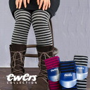 "Knit tights of German well-established brand ""ewers"" based on the organic cotton of high quality! The elasticity is very good for thickness, too; such as knee high sox wear; feeling / socks / horizontal stripes / colorful ◆ ewers (エワーズ): Casual"