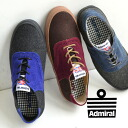 Miho was lump felt x stylish mens like two-tone suede low cut sneakers! Saddle shoes with medallions and reminiscent of smartform to the appeal / Lady shoe ◆ Admiral ( Admiral ) CYPRUSII