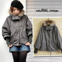 Is unmissable a young girl sensitive to the cold; most strong; a warm outer! Can remove it to a real raccoon fur & inner for food boa; and on a stand collar light jacket change ◆ natuRAL vintage (natural vintage): Three-quarter sleeve dolman sleeve s