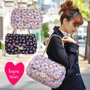 Shawl bag ◆ Lara & Heart (LARA and heart) of the square model that bulky quilting BAG of the LARA & heart was the light floral design of adult, and appearance ◎ gold chain accentuated: Rose knit quilting chain shoulder bag