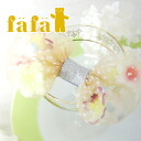Even if can totally reach flocky dot pattern race りぼん big ribbon hairpin ♪ bag and the jacket full of the translucency such as the floating flower; product made in ◎ / hair arrangement / Japan /Gold ◆ fafa (feh feh): VERA aloha peace soft and fluffy ribb