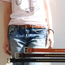 What kind of coordinates improve a one rank by the studs errand like 細 belt ◎ girl widening width of the fashion remarkably; help it, and leave waist marking, the arrangement to this belt for item ♪ browsing! ◆Antique studs fake leather slim belt