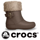 Suede leather-like inside boa bootie Berri ESSA buckle of crocs! Lady's model / half length / middle length / rain boots / rain shoes /synthetic/fs3gm ◆ crocs (clocks) berryessa buckle where features the lightness only by the cross light