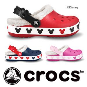 crocs(クロックス)crocband mammoth kids mickey▼[日本国内正規品]子供用ディズニー クロックバンドマンモスキッズミッキー サンダル