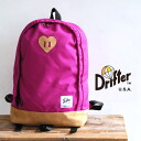 "A Drifter's first girls series ""B mine collection"" is released for a limited number! A heart-shaped nubuck leather patch CUTE ♪ /Back Country Pack ◆ Drifter (drifter): Be Mine Collection nylon backcountry pack rucksack"