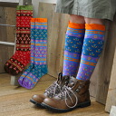 A traditional Bugle patterns in India to make 華やが an ethnic atmosphere feet socks. With various color and pattern border switching outdoor style perfect for ♪ ringtone comfort low pressure ◆ バグルハイ socks