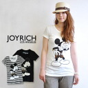 Rare Mickey Mouse print changed it to Leopard print pants ♪ the JOYRICH×Disney popular オフィシャルコラボ T shirt / Disney / Leopard / animal print /MickeyMouse/DIS-F1159TE ◆ JOY RICH ( Mickey Mouse No1 ) :Leopard Mickey Tee