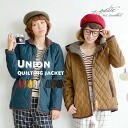 Casual quilting coat long sleeves food lady's pretty fashion coat outer quilting batting mail order ◆ Zootie (zoo tea) which resists rain and snow by water-repellent processing: ☆☆ union quilting jacket [standard] during the event