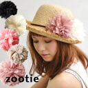 Big size is a feeling of now! The accessories of the big flower of 12cm in diameter made of rather hard chiffon materials. Both broach and clips 2WAY specifications ◎ / badge / hair accessories / artificial flower accessory /fs3gm ◆ Zootie (zoo tea) wher
