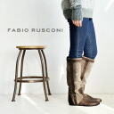 The long shot length boots which I wore it, and changed mouths to the main constituent with smooth leather in a flexible suede cloth material. A casual color to bring about an accent is boots /fs3gm ◆ Fabio Rusconi (ファビオルスコーニ) by color suede leather long