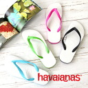 "Model ""traditional sandals"" characterized by the pop coloring. Lightweight X superior cushion-related / tong sandals / B sun ◆ Havaianas (Hawaiian announcers) TRADICIONAL SANDAL recommended for an X feeling of hold of a flexible tong for a town"