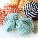Well bright Ribbon is adorable! Coordination in soft chiffon material, sheer material, only to be seasonal sense of drift to me! / Hairpin / Barrette ◆ Zootie ( ズーティー ): ストライプシフォン Ribbon Barrette